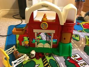 Little People farm barn toy for babies