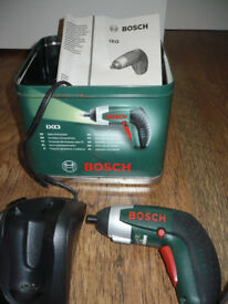 Bosch IXO cordless Lithium-Ion 3.6v screwdriver