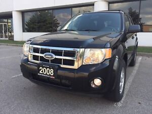 *LOW KMS*CERTIFIED*2008 FORD ESCAPE XLT FWD