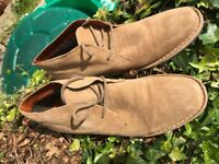 Redtape Mens Suede Leather Desert Boots Brand New /Unused, Size 12