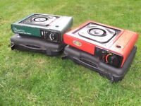 x2 Camping Gas Stoves & Gas - Working Order.