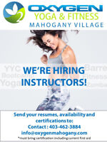 Hiring yoga and various fitness instructors