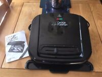 George Foreman 6-Portion Entertaining Grill with Removable Plates 20850
