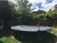 FREE Trampoline - High Quality Make - JumpKing JumpPOD 14 ft diameter. FREE.