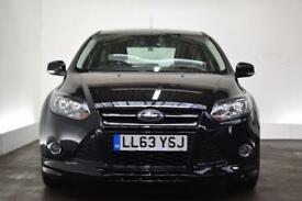 FORD FOCUS 1.6 ZETEC S TDCI 5d 113 BHP (black) 2014
