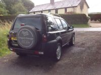 24/7 Trade sales NI Trade Prices for the public 2003 Land Rover Freelander 2.0 TD4 ES Automatic