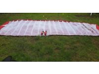 6.8 METRE POWER KITE EXCELLENT CONDITION