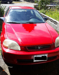 1997 Honda Civic CX Hatchback