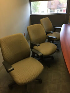Quality Office Chairs - almost new