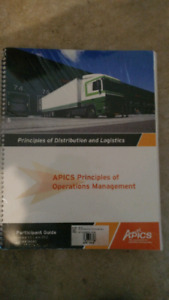 New sealed Apic principle of distribution and logistics workbook