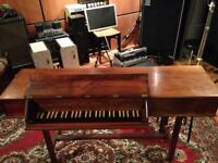 Clavichord, Spinet, Harpsichord piano by Alec Hodsdon, rare (REDUCED!)