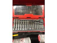 Snap on tap set 3mm - 12mm