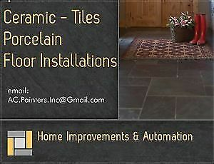 ceramic tile installation | services in kitchener / waterloo