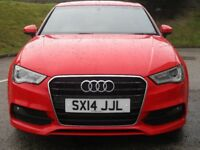 Audi A3 TDI S LINE (red) 2014-05-30