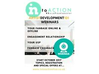 INtoACTION Artist Development Webinars