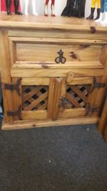 Wooden cabinet (can be used as little storage cabinet)
