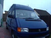 VW T4 Hightop 4 berth campervan