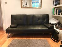 Three Seater Leather Sofa Bed