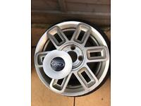 2 x Ford Fusion Alloy Wheels + Part worn tyres.