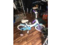 Kids bike. With stability good condition £15.