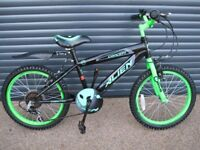 """CHILDS CONCEPT ALIEN BIKE IN EXCELLENT LITTLE USED CONDITION, 18"""" WHEELS. (SUIT APPROX. AGE. 5 / 6+)"""