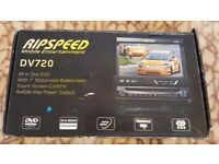 Ripspeed DV720 In Car All in One DVD Stereo