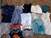 Baby boy clothing bundle 3 -6 months