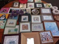 Job Lot Of Pictures/Canvasses & Wall Hangings
