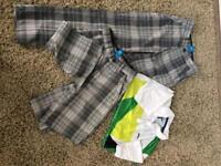 Boys golf clothes age 9-10
