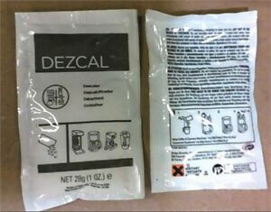 Dezcal descaling cleaner for your espresso coffee maker