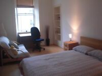 Spacious room to rent in central Edinburgh flat ( West Newington Place)