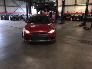 2009 Mitsubishi Lancer EVO X. MR Berline