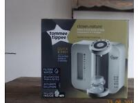 Tommee Tippee Sterilisation Machine & Tommee Tippee Prep Machine which has never been used