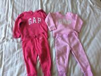 Gap Tracksuits 2-3 years great condition