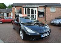 TOYOTA CELICA 1.8 PREMIUM RED VVT-I 3d 140 BHP RED LEATHER / 2 K (black) 2005