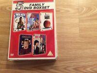5 Family DVD boxset