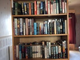 Love Reading? I have bookcases full of thrillers by Scottish, English and Scandinavian writers.