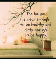 HOUSE CLEANING :)