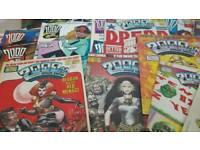 400 x 2000AD comics for sale