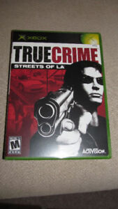 """True Crime:Streets of LA"" (Xbox 2003) New & Sealed - only $10"