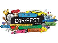 Two Carfest weekend camping tickets