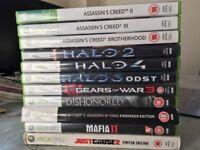 XBOX 360 games bundle - 11 games in total