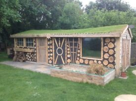 Hand made summer houses