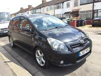 7 SEATER, 2007 TOYOTA COROLLA VERSO T180 D2-D, Diesel 73000 MILES, MOT, LETHER SEAT