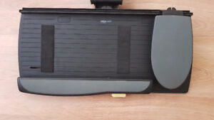 Obusforme adjustable Keyboard and Mouse Tray