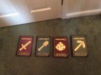 Full set of the minecraft hand books