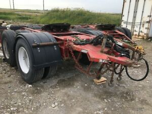 2010 Tandem axle converter dolly