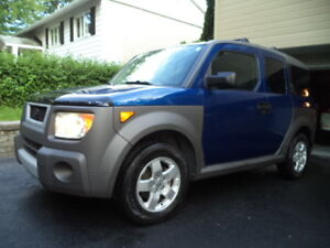 2005 Honda Element EXP-AWD-Y PACKAGE SUV, Crossover