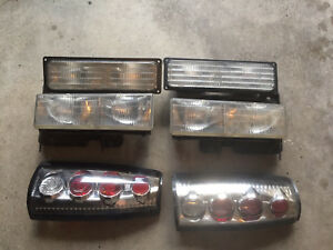 GMC CHEVY 1500 96-98 headlights, taillights and signal lights