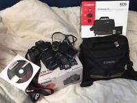 Canon 100D dslr Brand new